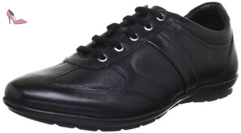 Geox Uomo Dynamic D, Zapatillas para Hombre, Negro (BLACKC9999), 42 EU