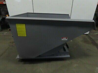Ad Ebay Iron Bull Big Bull Series Self Dumping Trash Scrap Hopper 3 Yard Capacity In 2020 Bull Series Pallet Lift Waste Container