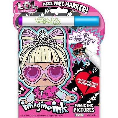 Lol Surprise Imagine Ink Board Book In 2021 Book Activities Coloring For Kids Book Girl