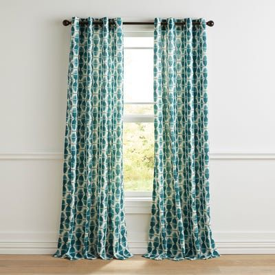 Mora Teal 84 Curtain With Images Teal Curtains Turquoise