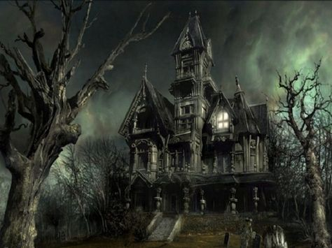 Haunted House, Scaryville  photo via constantly