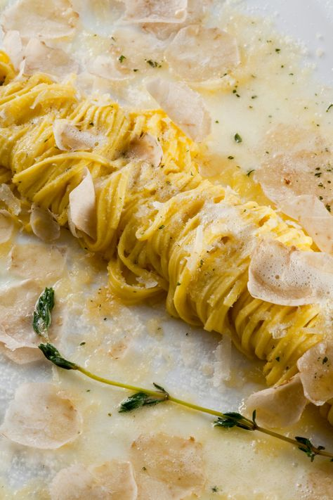 Simple and succulent, @Four Seasons Hotel Milano's  Capelli d angelo al tartufo bianco is the perfect example of how Italian pasta was meant to be enjoyed.