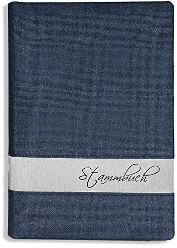 Stammbücher,Hochzeit Blau Stammbuch der Familie -Stea- Soft,Familienstammbuch