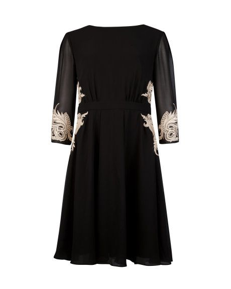 c2db19e9f8 Ted Baker Gaenor Embroidered detail dress  295
