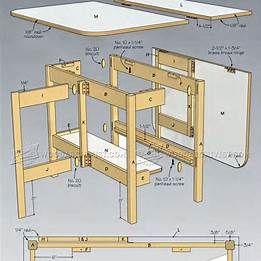 Make Drop Leaf Table Plans Drop Leaf Table Leaf Table Table Plans