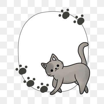 เส นขอบทาส แมว เส นขอบแมวส เทา การ ต นแมวชายแดน เส นขอบแมว ท สวยงาม การแตกหน อของแมว ภาพประกอบ ชายแดนแมวน าร ก ภาพประกอบ ส ตว ล ก แมว