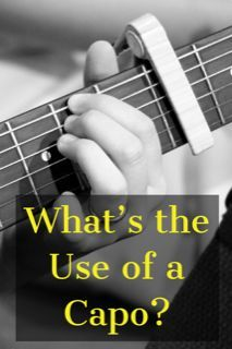 What S The Use Of The Guitar Capo Yourguitarguide Com Guitar Capo Guitar Chords Guitar Chords Beginner