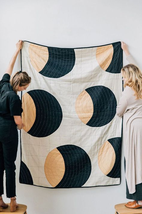 Colorful Contemporary Quilts | Handmade Charlotte
