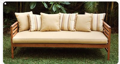 outdoor daybed outdoor lounge area