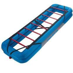 Aleko Portable Pliable Lit de camping avec Côté Sac de rangement Noir