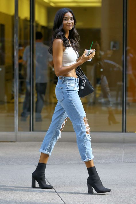 """fashionthurzday:""""Kelly Gale attends callbacks for the Victoria's Secret Fashion Show 2018 in New York City"""""""