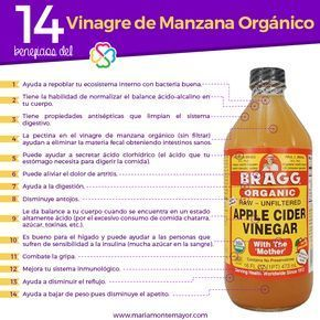 Beneficios Del Vinagre De Manzana Organico Motivacion Frases