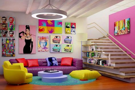 Arredamento Stile Pop Art : Lo stile senza età del vintage arredamentocolors fantasy