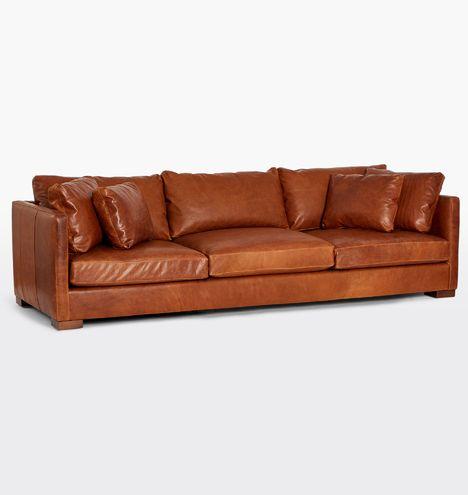 108 Wrenton Leather Sofa Furniture Living Room Rejuvenation