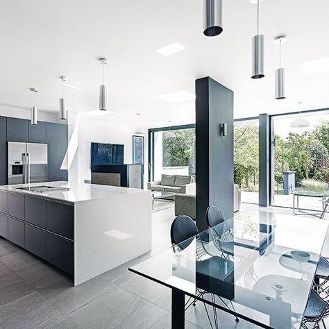 Open Plan Kitchen Design Ideas Open Plan Kitchen Diner Open Plan Kitchen Handleless Kitchen