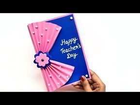 28 Diy Teacher S Day Card How To Make Greeting Card For Teachers Day Teachers Day Card Making Idea Yo Teachers Day Card Teacher Cards Teacher Birthday Card