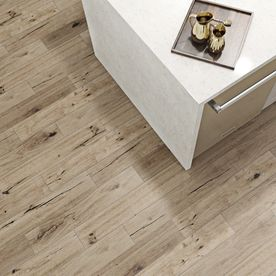 porcelain wood tile floor