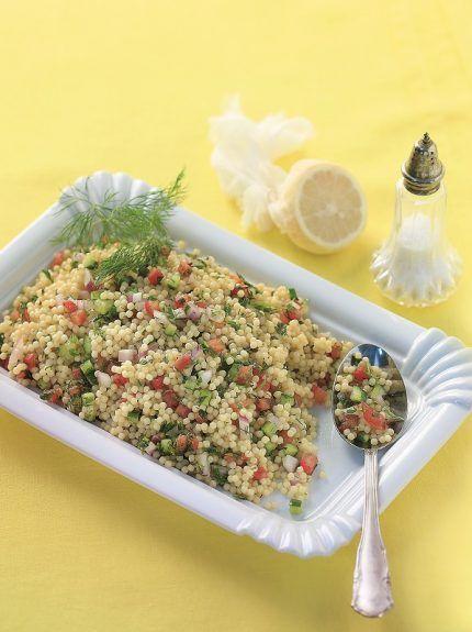 Σαλάτα με κουσκουσάκι και καλοκαιρινά λαχανικά - www.olivemagazine.gr