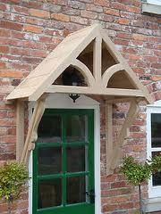 Timber Front Door Canopy Porch Bespoke Hand Made Porch & victorian porches - Google Search   Porches*Outdoor Living ...