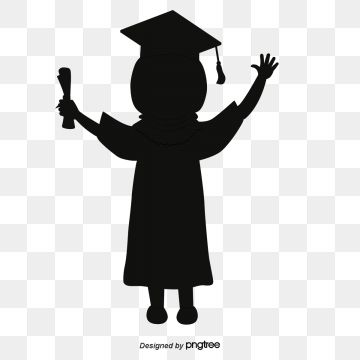 Students Silhouette Graduation Season Silhouette Vector Graduation Vector Graduation Png And Vector With Transparent Background For Free Download Silhouette Vector Graphic Design Background Templates Green Screen Backgrounds