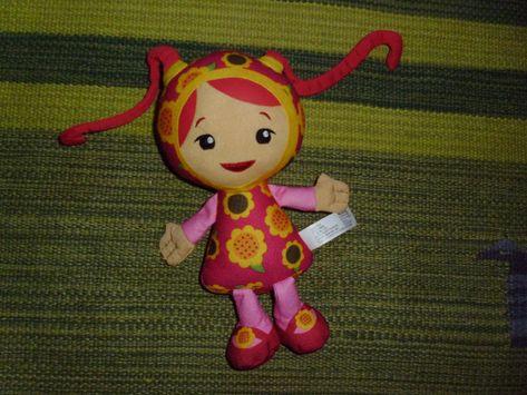 Team Umizoomi Toy Millie Plush Stuffed Pink Doll 2012 Fisher