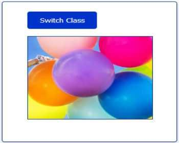 In this post, we are going to switch the CSS class using