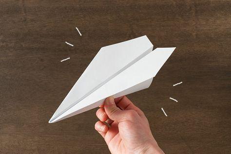 て 飛行機 紙 よく かっこよく 作り方 飛ぶ の