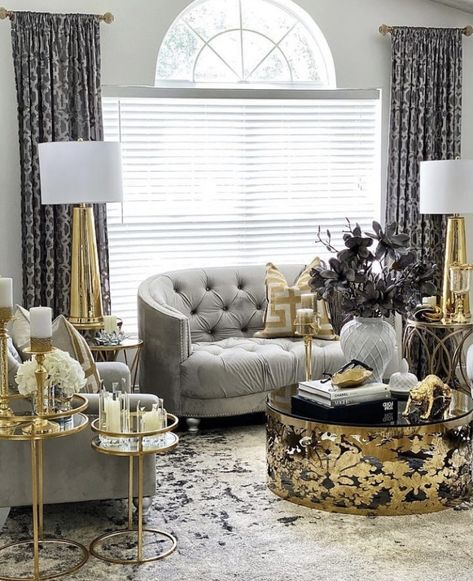 Make Your Home Shimmer With Silver & Gold Decors