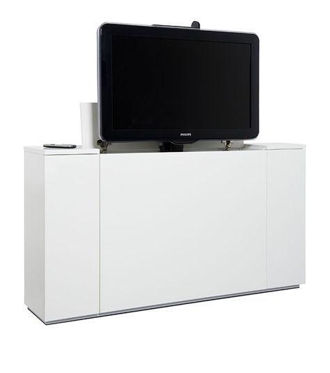onze nieuwe tv-kast met ingebouwde tv-lift-12 | lift tv - hidden tv