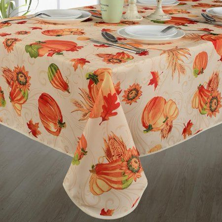 Lahome Bohemian Sunflower Tablecloth Cotton Linen Table Cover Kitchen Dining Room Restaurant Party Decoration Round 60 Table Cloth Decor Linen Tablecloth