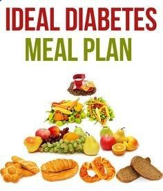 plan de dieta ideal para diabetes
