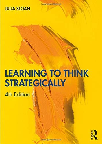 Download Pdf Learning To Think Strategically Free Epub Mobi Ebooks Books To Read Ebook Free Kindle Books