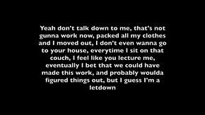 Nf Let You Down Lyrics Youtube For My Family Lyrics Let You Down Let It Be
