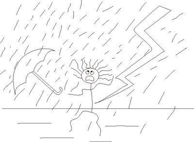Pin En Test Persona Bajo La Lluvia