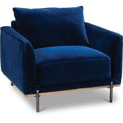 Modern Royal Blue Velvet Chair Marseille Blue Velvet Chairs Blue Accent Chairs Velvet Chair