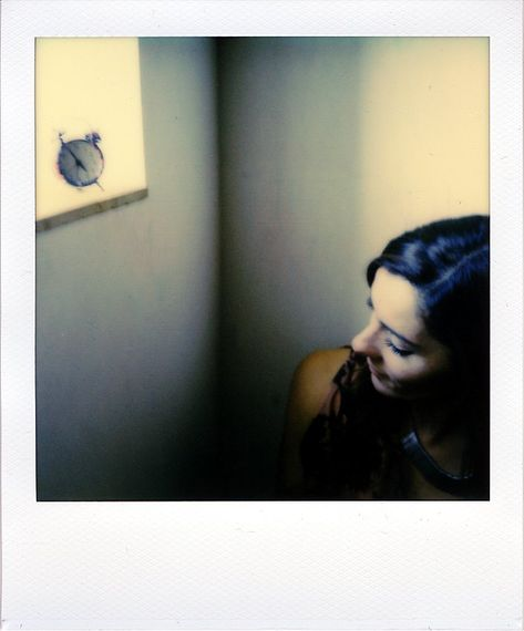 Around the corner by Cyril Auvity, Photography, Polaroid, instant film