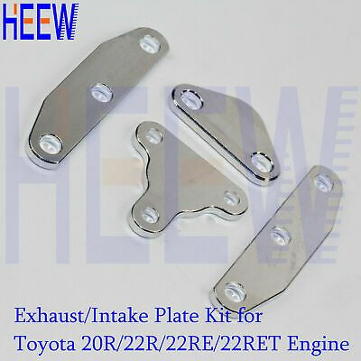 Smog Delete Exhaust Intake Block Off Plate EGR For Toyota 20r 22r 22re Engine