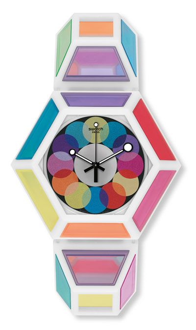 Swiss made, the Swatch watch DODECAHEDRON COLLISION features a quartz movement, a plastic strap and a plastic watch head. Discover more Originals New Gent on the Swatch Canada website.