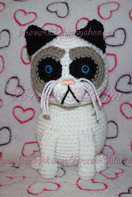 Grumpy Cat Amigurumi | Fox in Socks Crochet | 640x427