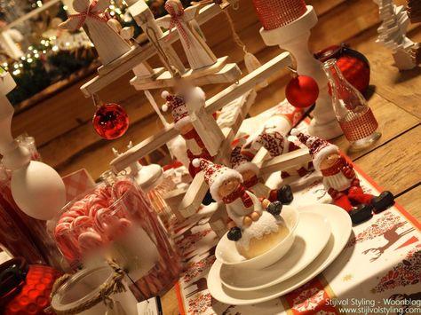 Kerstdecoraties Met Rood : Feestdagen christmas time kerst decoratie trends & inspiratie
