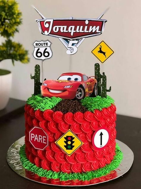 Outstanding Cars Cake Ideas Mcqueen 24 Ideas For 2019 Com Imagens Bolo Personalised Birthday Cards Petedlily Jamesorg