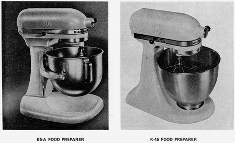 Link Kitchen Aid K45 Service Manual For Hobart Made Vintage