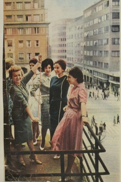 Stalin S Fashion House Style Spying Behind The Iron Curtain In 2020 Rare Historical Photos Zagreb East Fashion