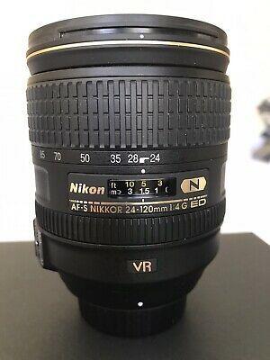 Nikon 24 120mm F 4g Ed Vr Af S Nikkor Lens Camera Lenses Lenses Pancake Lens