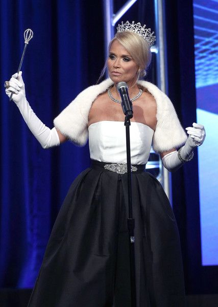Host Kristin Chenoweth speaks onstage at the 33rd Annual Television Critics Association Awards during the 2017 Summer TCA Tour.