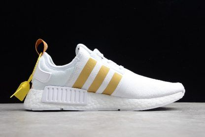 6a8412090d556 Off-White x adidas NMD R1 White Black Green Red New Release-1 ...