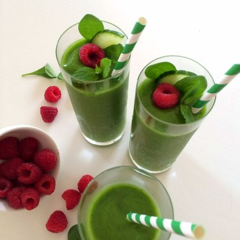 vetegräs smoothie recept