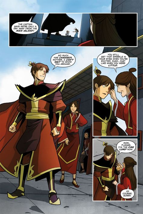 Avatar – The Last Airbender – Smoke and Shadow Part 1 (2015) | Viewcomic reading comics online for free