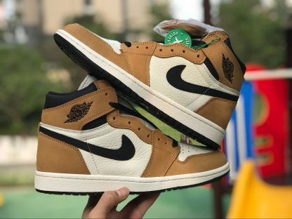 2018 Wheat Air Jordan 1 Rookie Of The Year 555088 700 For Sale