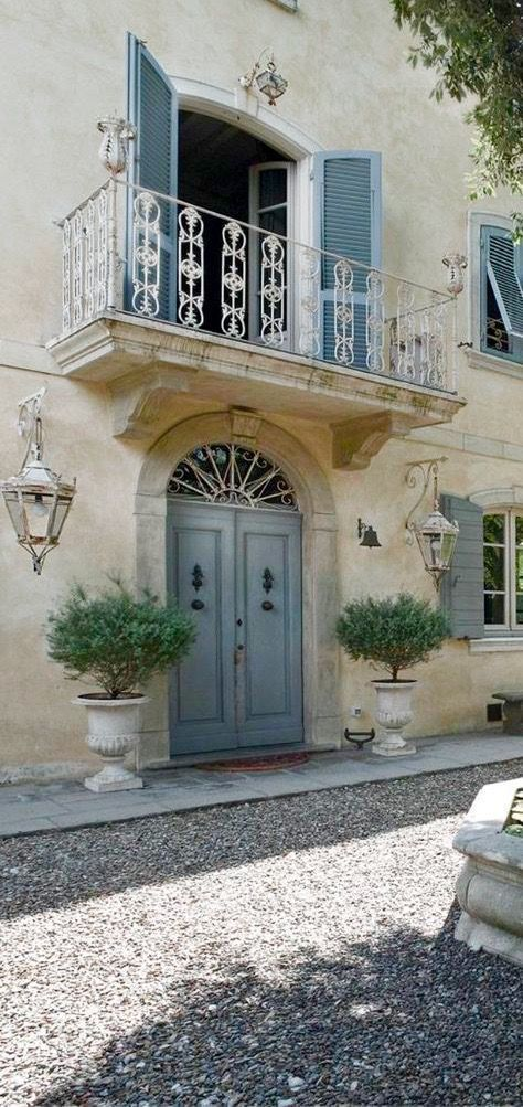 French Country Garden Planters For Spring French Country Exterior French Country House French Country Cottage